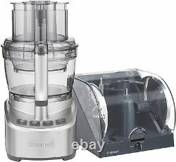 Cuisinart Elemental 13-Cup Food Processor with Spiralizer Stainless Steel FREESHIP