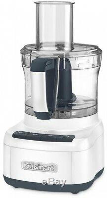 Cuisinart Elemental 8-Cup 8-Food Processor in White 350-W Stainless Steel 10. Lb