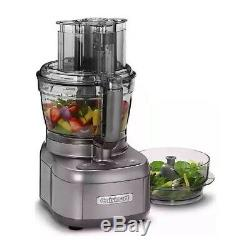 Cuisinart Elemental Food Processor with 11-Cup and 4.5-Cup Workbowls (Gunmetal)