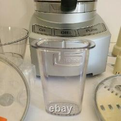 Cuisinart Elite Collection 12 Cup Food Processor. Used twice. No room on Counter