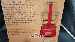 Cuisinart Elite Collection 12 cup Food Processor FP-12MP FP-12 Metallic Pink