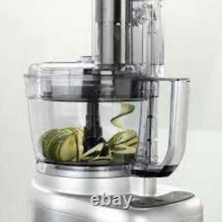 Cuisinart Expert Prep Pro 2 Bowl Food Processor With 3L Capacity Stainless S