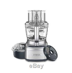 Cuisinart FP-13DSV Elemental 13 Cup Food Processor and Dicing Kit Silver