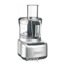 Cuisinart FP-8SV Elemental 8 Cup Food Processor Silver with Spoon Bundle
