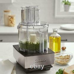 Cuisinart Food Processor 14-Cup 2-Speed Pulse Control Brushed Black Stainless