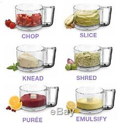 Cuisinart Food Processor Custom Pro 11 Cup Brushed Stainless Extra ValueEV-11PC8