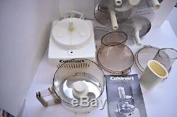 Cuisinart Food Processor Model CFP9A + Accessories by Robot-Coupe Vintage France