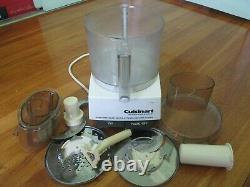Cuisinart Food Processor Model DLC-7 PRO Made in Japan. Serial number A0871894