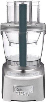 Cuisinart Food Processor Wide-mouth Feed Tube Dough Blade Retractable Cord