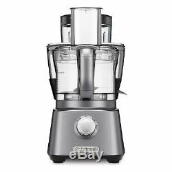 Cuisinart Kitchen Central with Blender Juicer Food Processor Gunmetal Multi Use