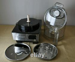 Cuisinart Original 7 Cup Food Processor DFP-7BC Stainless Professional with Extras