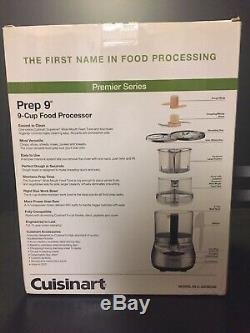 Cuisinart Prep 9-Cup Food Processor with Brushed Stainless Finish