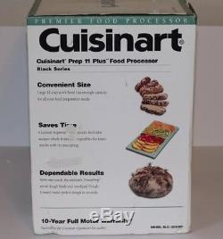 Cuisinart Prep Plus 11-Cup Food Processor and Attachments Black FREE SHIPPING