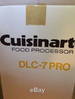 Cuisinart Pro Classic, 7-Cup Food Processor, White (DLC-7 PRO) New 1982