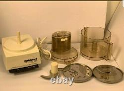 Cuisinart Professional DLC-7M Restaurant Quality Food Processor Japan Works