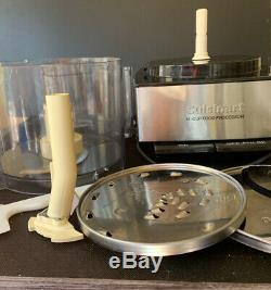Cuisinart Stainless Steel Food Processor 14-Cup With Accessories WORKS GREAT