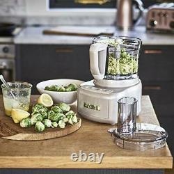 Cuisinart Style Collection Easy Prep Pro 2 Bowl Food Processor With 1.9L