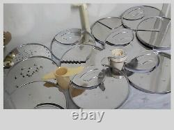 DLC-X Plus Cuisinart Commercial Food Processor 20 Cups 11 Blades MADE IN JAPAN