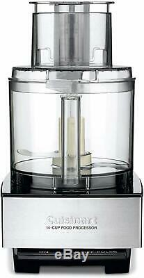Deal of the Day Food Processor, Brushed Stainless Steel, MADE IN USA, Guaranted