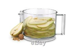Food Processor 14 Cup Extra-Large Feed Tube Stainless Steel Medium Slicing Disc