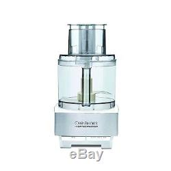 Food Processor By Cuisinart Genuine 14-Cup 720W Brushed Stainless Steel White