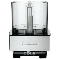 Food Processor Chopping Mixing Blade BPA Free Spatula Brushed Stainless Steel