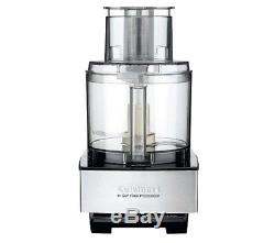 Food Processor Cuisinart 14-Cup Kitchen Combo Fast Blade Raw Stainless Steel