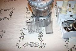 Food Processor Cuisinart FP-12DC 12 Cups Elite Collection With All Attachments