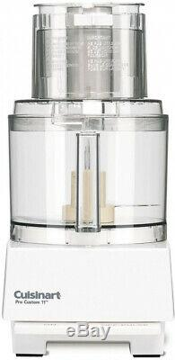 Food Processor PRO Custom 11 Cup in Classic White Small Kitchen Appliance