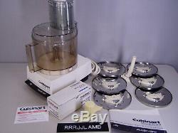 HUGE Commercial CUISINART DLC-X PLUS 20 CUP FOOD PROCESSOR Very Clean & Complete