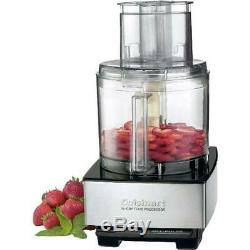 Large Food Processor 14 Cup Brushed Stainless Steel Chopping Mixing Cuisinart