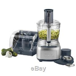 NEW Cuisinart Elemental 13-Cup Food Processor Spiralizer Accessory Case Blender
