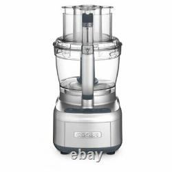 NEW Cuisinart Elemental 13 Cup Food Processor with Dicing, Silver FREE SHIP
