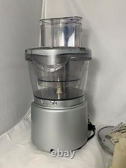 NEW Cuisinart Elite Collection CFP-24BCPC 12-Cup Food Processor & Accessories