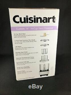 NEW Cuisinart Food Processor Kit 14-Cup 2 Speeds Full-Size Feed Tube DFP-14BCNY