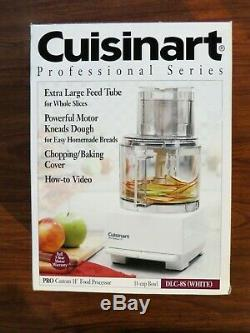 NEW IN BOX CUISINART PRO CUSTOM 11 CUP FOOD PROCESSOR DLC-8S vintage