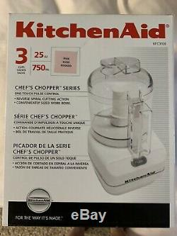 NEW Pink Kitchen Aid Cook For Cure(Cuisinart)Chefs Chopper Food Processor
