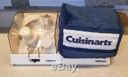 NOT RECALLED! Cuisinart Custom 11 Cup Food Processor DLC-8M with Blade & Disc Set