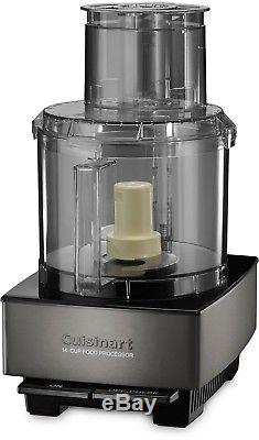 New CUISINART Custom 14-Cup FOOD PROCESSOR Dishwasher Safe Stainless Extra Wide