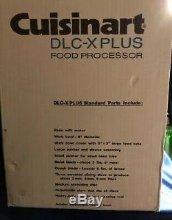 New Cuisinart DLC-X Plus 20 Cup Commercial Food Processor never out of box