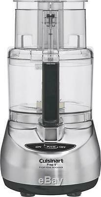 New Cuisinart Dlc-2009chb Stainless Steel Supreme 9 Cup Food Processor 0255448