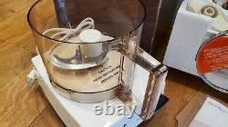New Old Stock Vintage Cuisinart Classic 7cup Food Processor DLC-10C USA Made