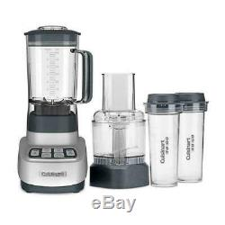 PLEASE EMAIL NEW Cuisinart BFP-650 1 HP Blender / Food Processor, Silver