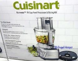 Stainless Steel 13-cup Food Processor