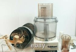 VIntage Cuisinart DLC X Plus Commercial Food Processor Tested sold as is