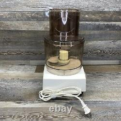 Vintage CUISINART DLC-10E Large Food Processor with Accessories Complete In Box