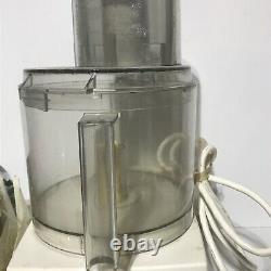 Vintage Cuisinart DLC-7 Super pro Food Processor withAccessories Made in Japan