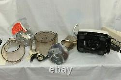 Vintage Cuisinart DLC-7 Super pro Food Processor withAccessories and owners manual
