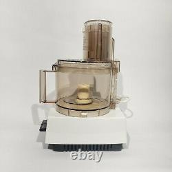 Vintage Cuisinart DLC-8 Food Processor, Complete, Made in Japan, TESTED WORKING
