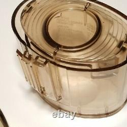 Vintage Cuisinart DLC-8 PLUS Food Processor Made In Japan Tested